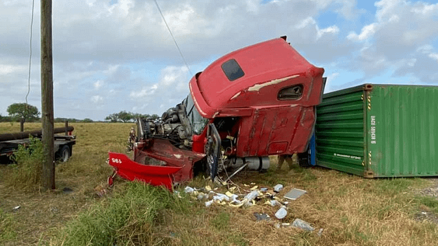 Fatal Truck Wreck on US 59